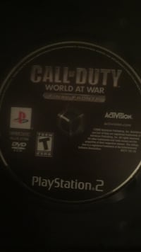 Call of duty world at war final fronts for ps2 Montréal, H8Z 2W9