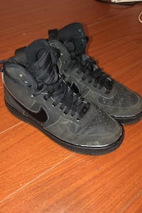 Matte dark gray hight top Air Force 1's Surrey, V3V 3X7