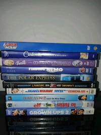 assorted Blu-ray movie cases Vancouver, V5X 2S4