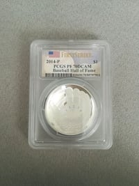 2014 P Baseball Hall Of Fame Coin Wimauma, 33598