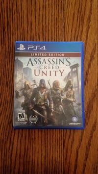 Assassin's Creed Unity PS4 game case Carol Stream, 60188