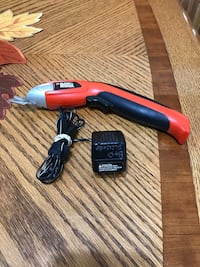 Black and Decker scissors with chargers