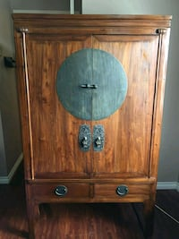 brown wooden cabinet with drawer Richmond, V7A 1W5