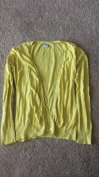 yellow buttoned cardigan North Little Rock, 72116