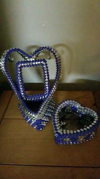 beaded blue and white necklace San Jose, 95128