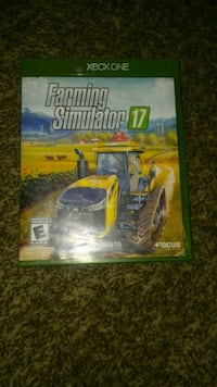 Xbox One Farming Simulator 17 used West Valley City, 84120