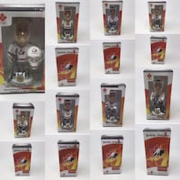 2002 Team Canada Bobbleheads: New in box. *SOLD SEPARATELY * Calgary, T3G 1J6