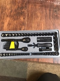 New Stanley ratchet tool set