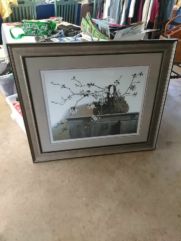 Framed picture. perfect condition! Beautiful!