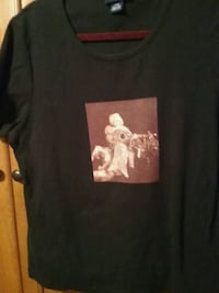 Marilyn Monroe t-shirt ladies size 14-16 black Flint, 48503