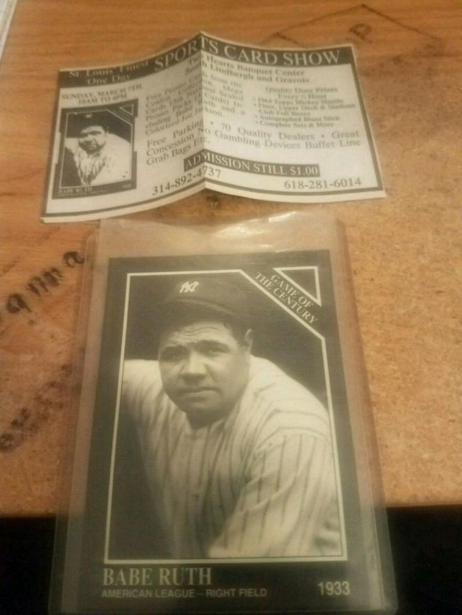 Photo 1992 Babe Ruth - The Sporting News #663 13th National