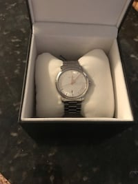 Men's Gucci G-Timeless Watch- Silver Stainless Fairfax, 22030