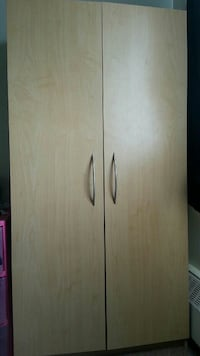 2-door Wardrobe/Storage Cabinet