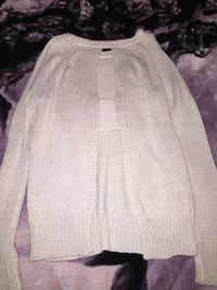 women's white knitted sweater Grande Prairie, T8W 0G4