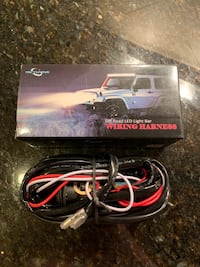 LED Light Bar Wiring Harness, Fuse 40A Relay On-off Waterproof Switch Chandler, 85226