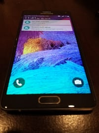 FIRM PRICE - SAMSUNG GALAXY NOTE 4 32GB *UNLOCKED TO ALL CARRIERS* BLACK Mississauga