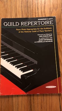 Guild Repertoire book