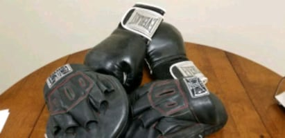 Boxing Gloves and Punching Pads