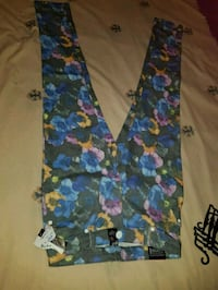 blue, red, and green floral pants Brampton, L6R 1M5