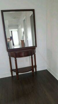 Brown frame mirror 85 wiyd  100 long Newmarket, L3Y 4V9