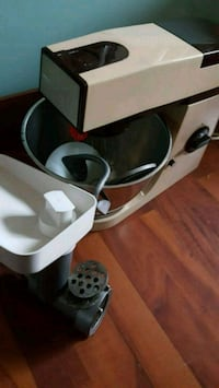 white and black stand mixer Laval, H7T 2A4