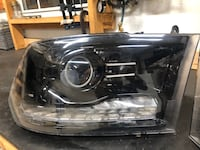 Custom 2011 Dodge Ram headlights