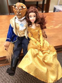 Disney Beauty & the Beast Doll Set Montgomery Village, 20886