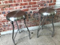 two stainless steel bar stools San Antonio, 78230