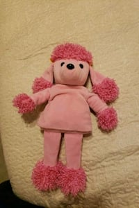 pink and white bear plush toy Springfield, 22153