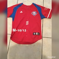 red and black Adidas jersey shirt Brownsville, 78521
