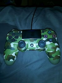 green and black camouflage Sony PS4 controller Brook Park, 44142