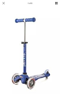 New micro mini deluxe blue kick scooter Homer Glen, 60491