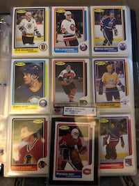 1986-87 OPC Complete set with Graded Roy Rookie