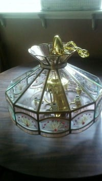 Tiffany style ceiling light with dried flowers Waterloo, N2L 4N6