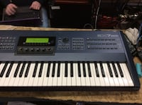 Yamaha keyboard musical instrument with cord EX7 used Baltimore, 21205
