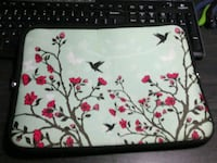 green floral tablet soft zippered case Dallas