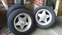 3 rims and tires Louisville