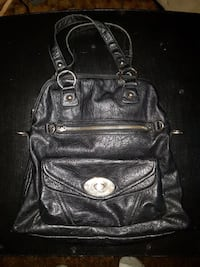 black leather handbag Kamloops, V2B 3C9