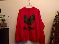 Wu Tang Clan Red Wu wear sweater Burnaby, V5C 1M5
