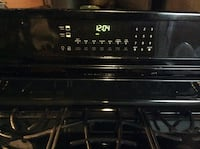 Black Frigidaire commercial gas stove 6 burner  Pinellas Park, 33781
