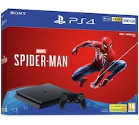 Brand new PS4 1T plus Spider-Man game College Park, 20742