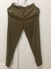 Topshop Womens Tan Casual Dress Pants With Pockets Front Tapered Richmond Hill, L4S 1L7