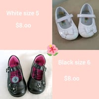 toddler's two pairs of shoes Merced, 95340