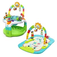 Bright starts exerciser and play mat