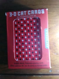 3D Cat Pokersized Cards
