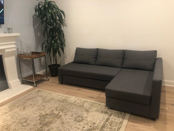 Awe Inspiring Moving Sale Ikea Friheten Sofa Bed With Storage Caraccident5 Cool Chair Designs And Ideas Caraccident5Info