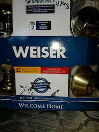 WEISER lock set