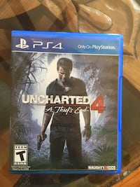 SONY PS4 Uncharted 4 A Thief's End case Edgewood, 87015