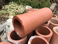 Terra-cotta pipes.  X 21 pieces Newmarket