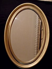 Gold Oval Mirror > Large Surrey